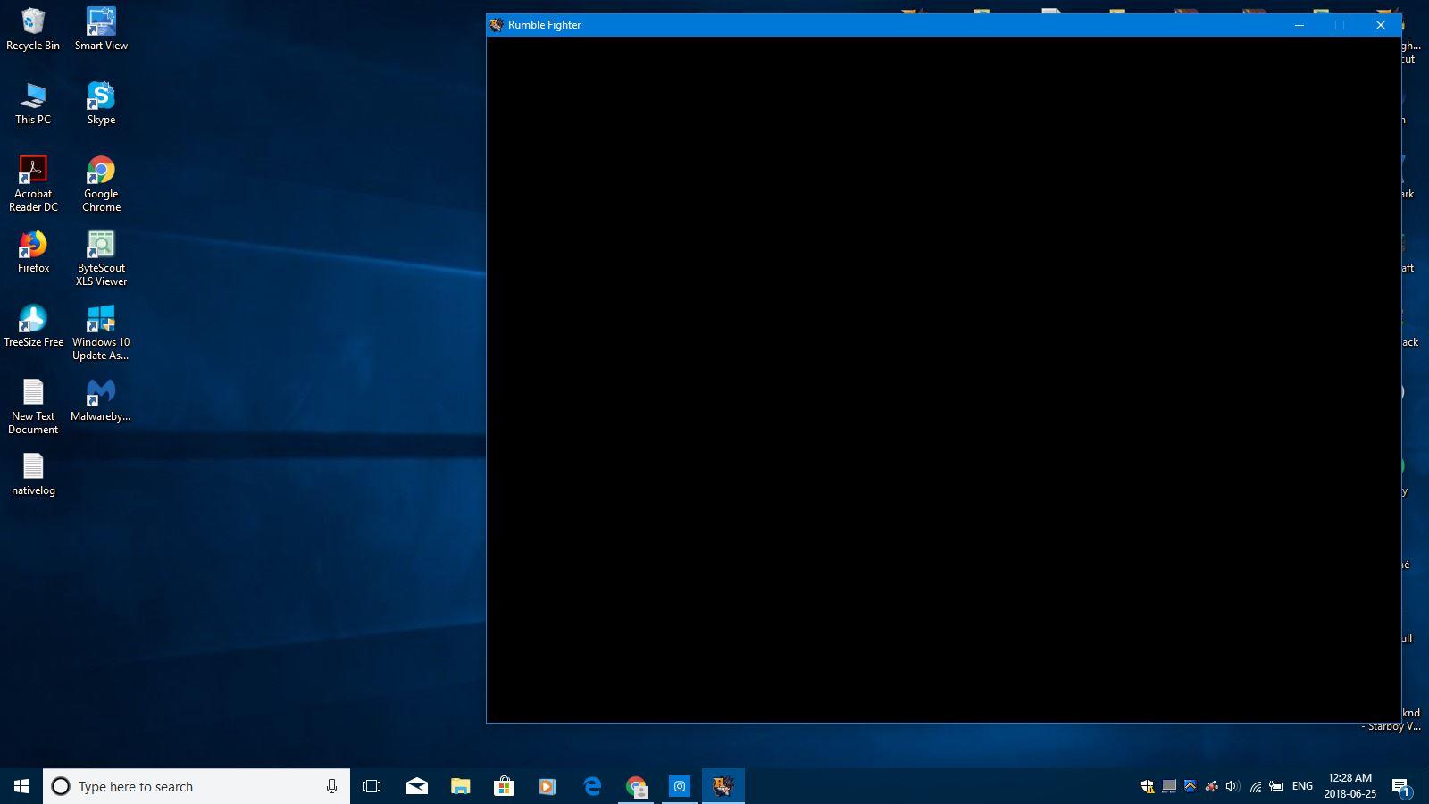 Black Screen when starting RF | RedFox Games